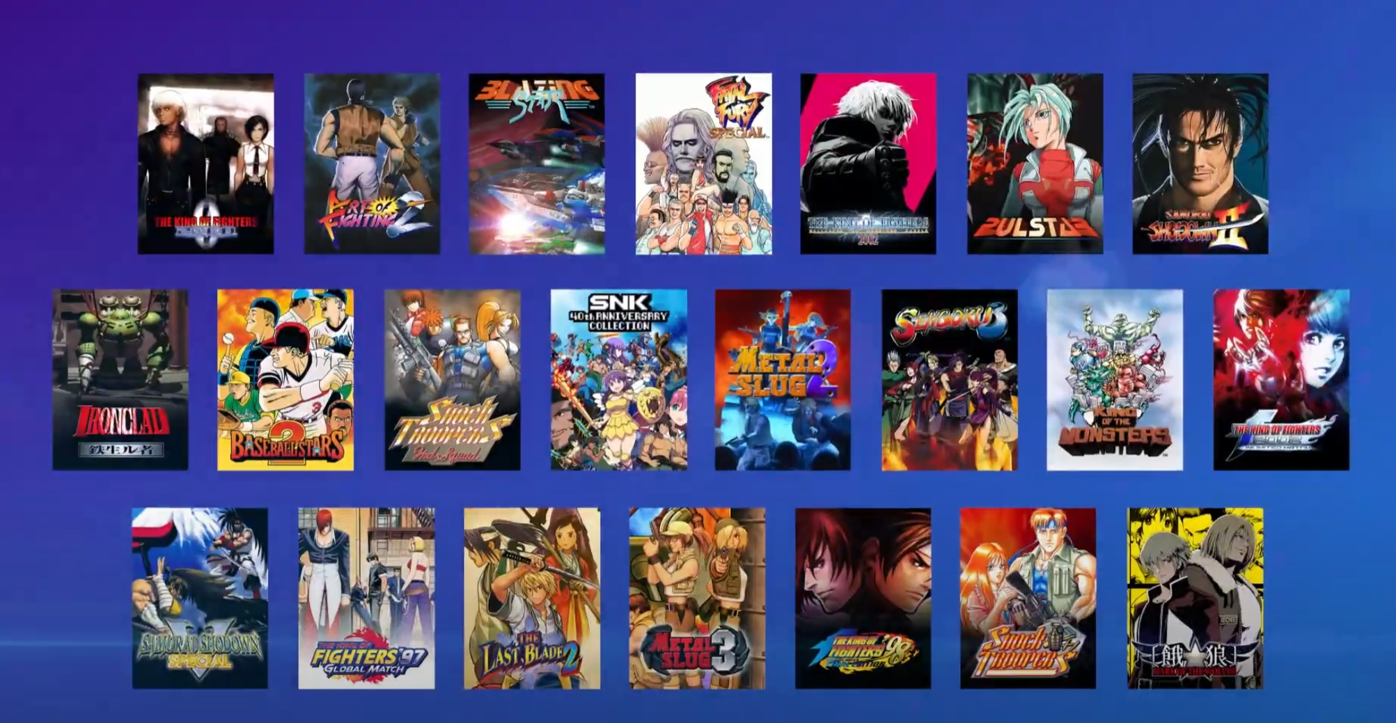 You have until March 31 to claim a boat load of retro SNK games on Prime Gaming screenshot