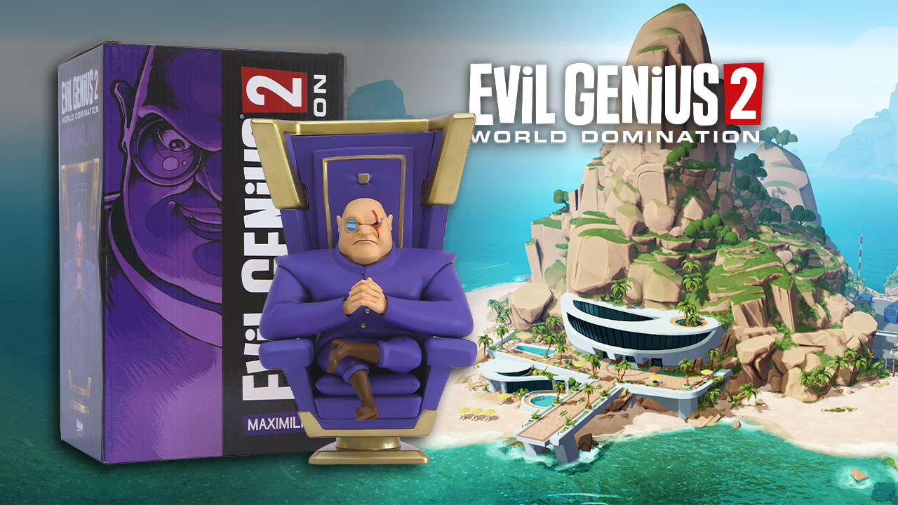 Contest: Win this Evil Genius 2 limited edition statue screenshot