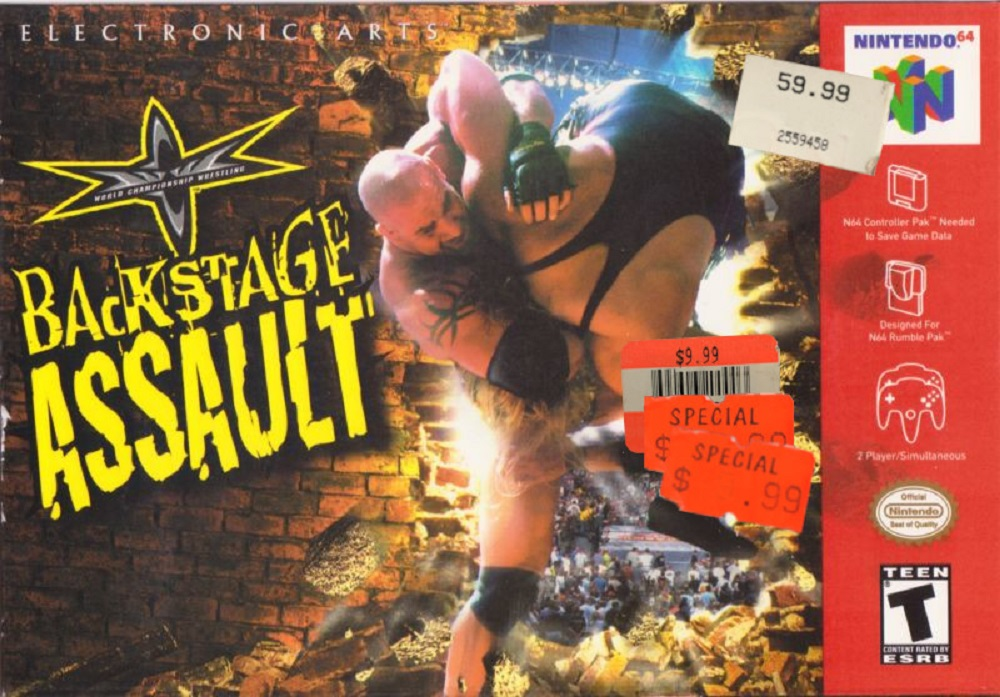 There's only so much WCW: Backstage Assault the human body can withstand! screenshot