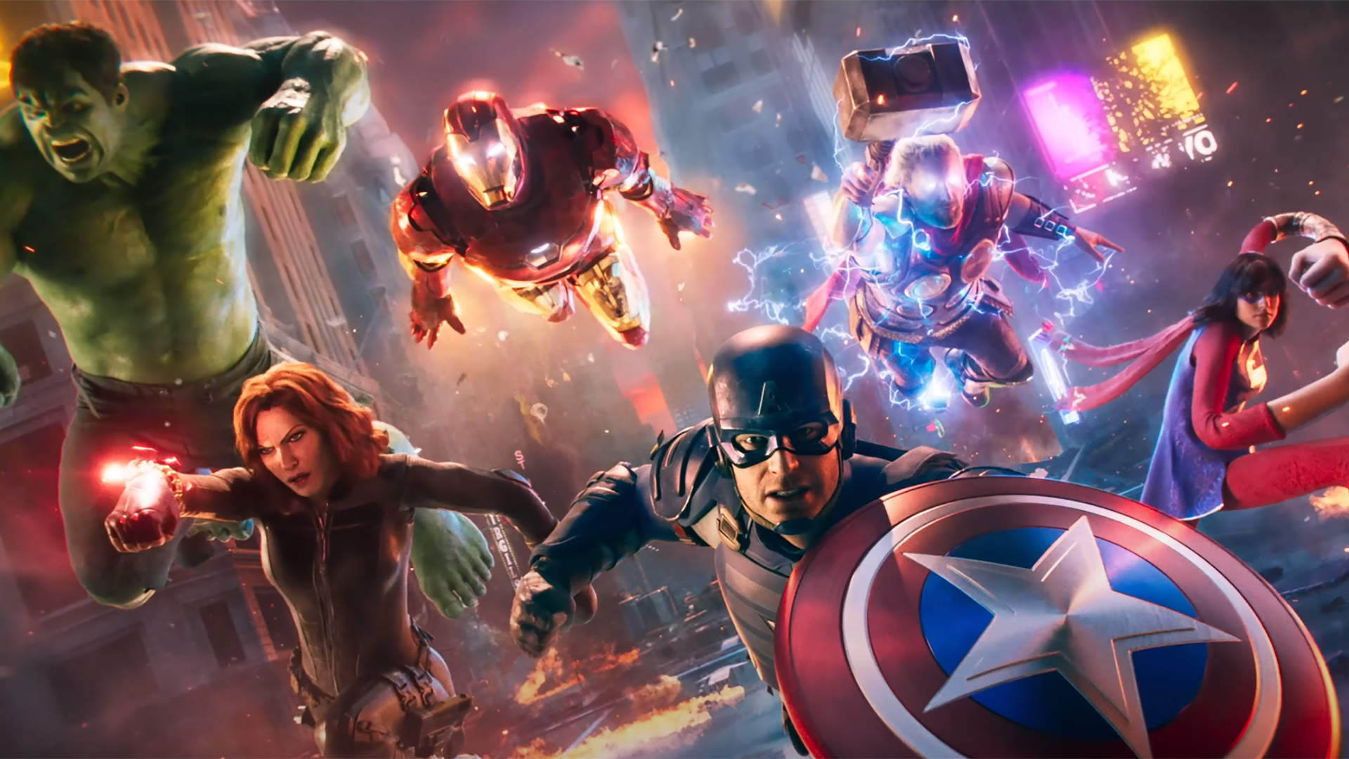 The Marvel's Avengers console upgrade just works on Xbox, but takes some finagling on PlayStation screenshot