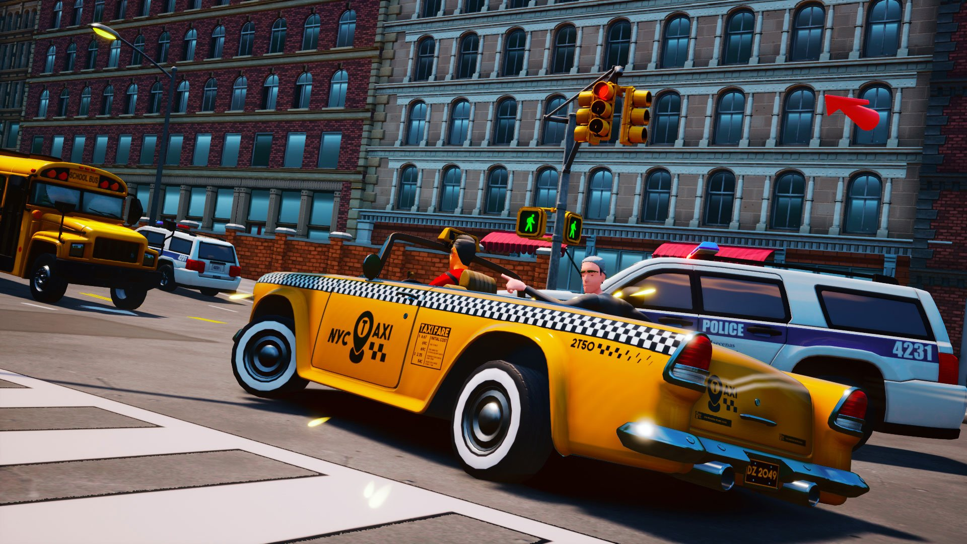Contest: Win Taxi Chaos for Switch, PS4, or Xbox One screenshot
