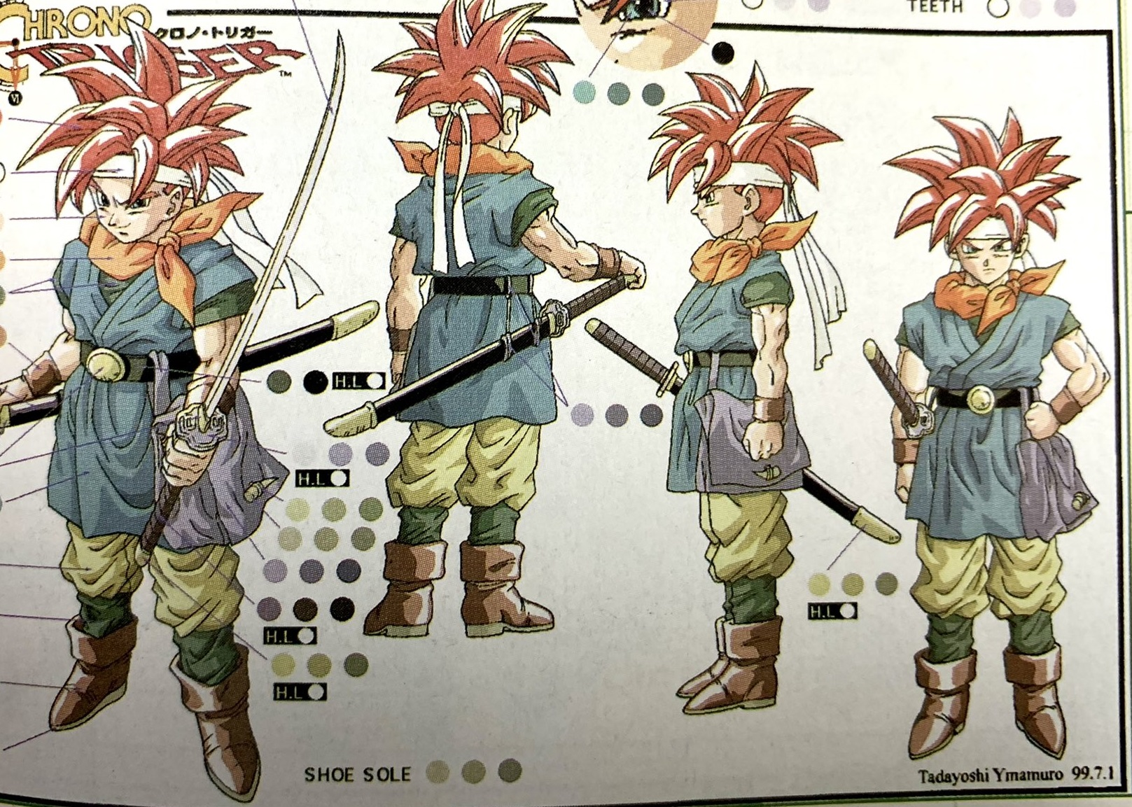 Whoa newly unearthed Chrono Trigger art? I'm into it screenshot