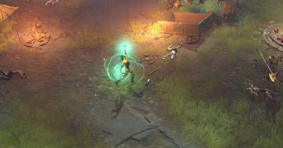 The Diablo-like Magic: Legends opens up its PC beta program today screenshot