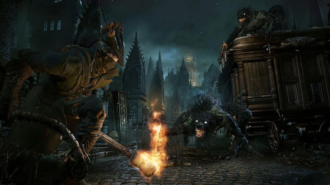 Fans are flocking to Bloodborne again for Return to Yharnam screenshot