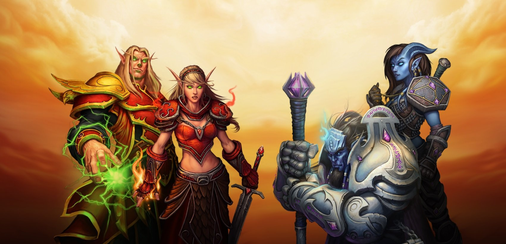 The World of Warcraft Burning Crusade Classic beta is live now screenshot