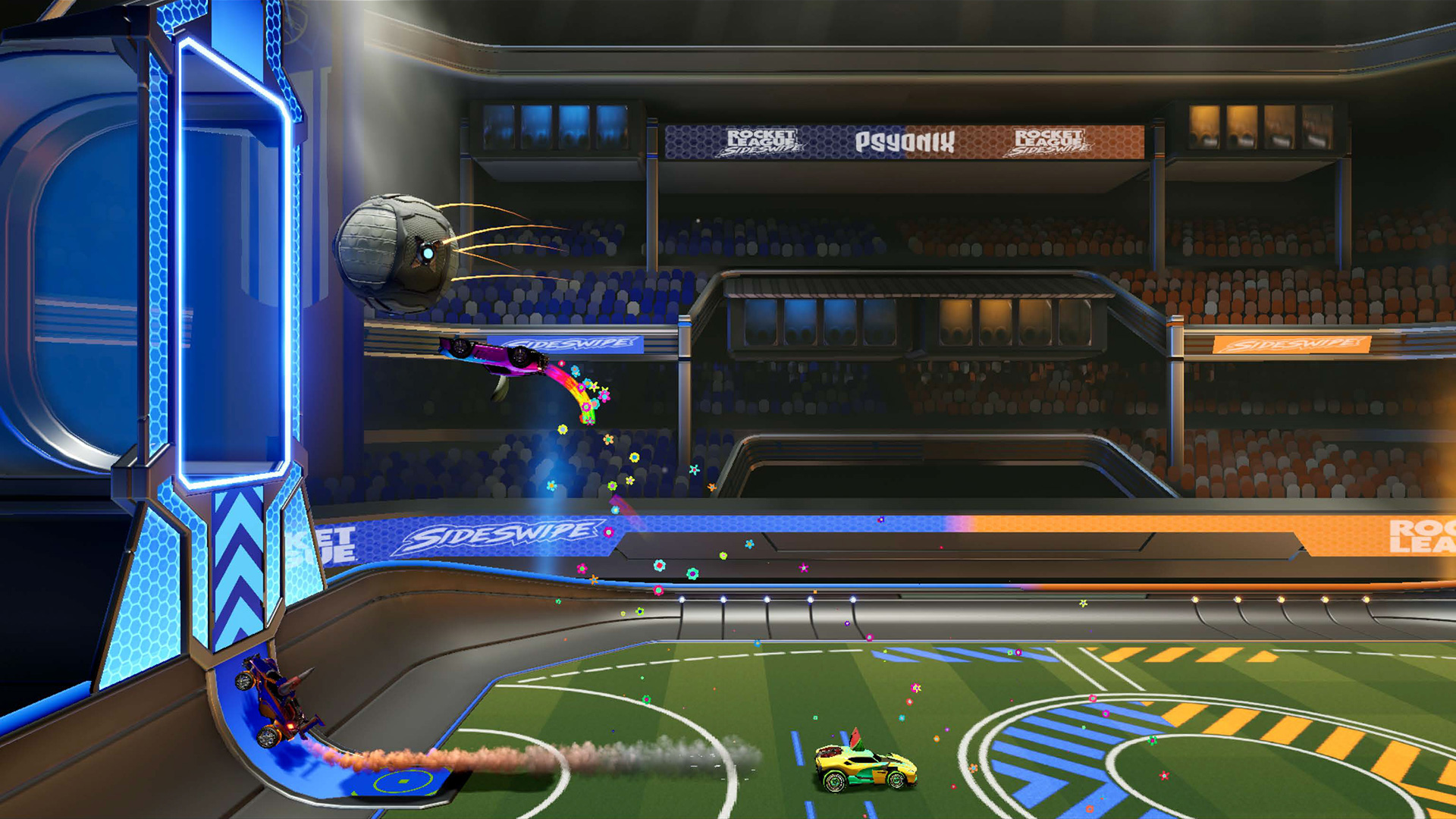 Rocket League Sideswipe is a free mobile spin-off for iOS and Android screenshot