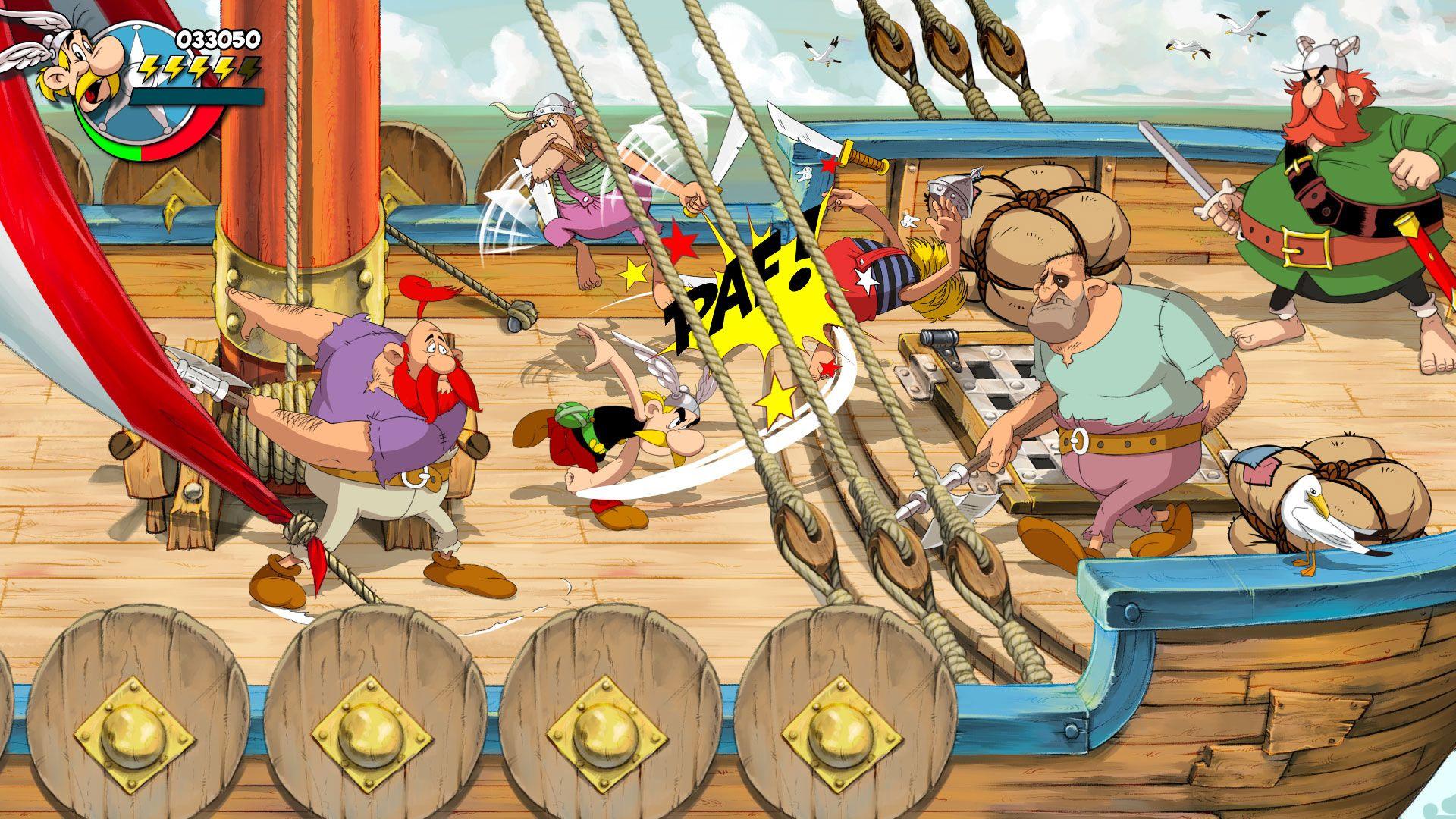 Asterix and Obelix: Slap Them All is a new hand-drawn beat-'em-up screenshot