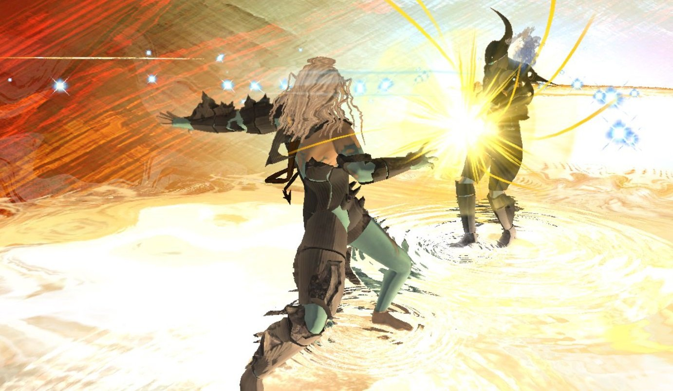 El Shaddai: Ascension of the Metatron director says that work on the PC version began all the way back when Windows XP was a thing screenshot