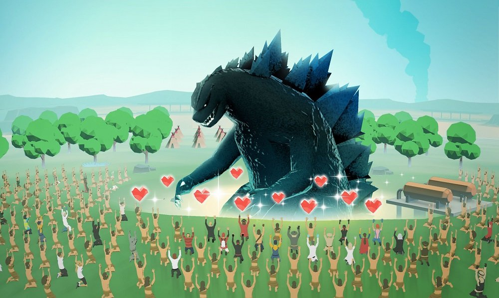 A trio of new Godzilla games are stomping onto mobile screenshot