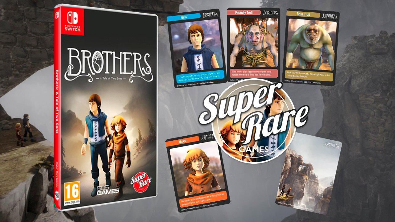 Contest: Win Brothers: A Tale of Two Sons on Switch from Super Rare Games screenshot
