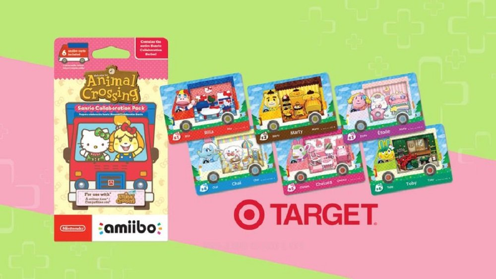 Target messed up the planned Animal Crossing Sanrio amiibo card rollout, and now packs are going for $50 or more on eBay screenshot