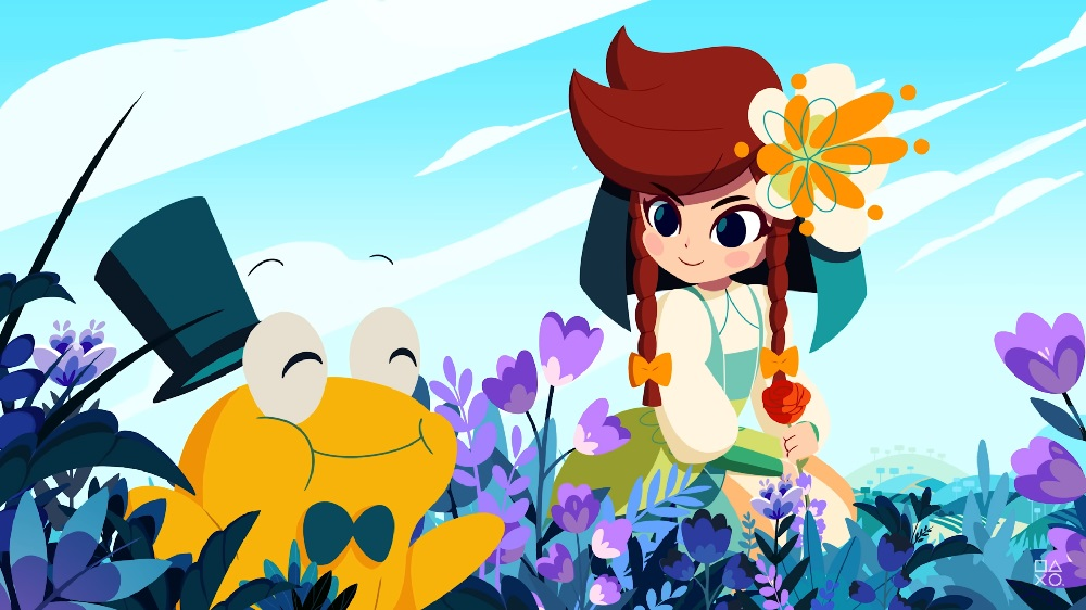 Cris Tales introduces our hero's charming party of allies screenshot