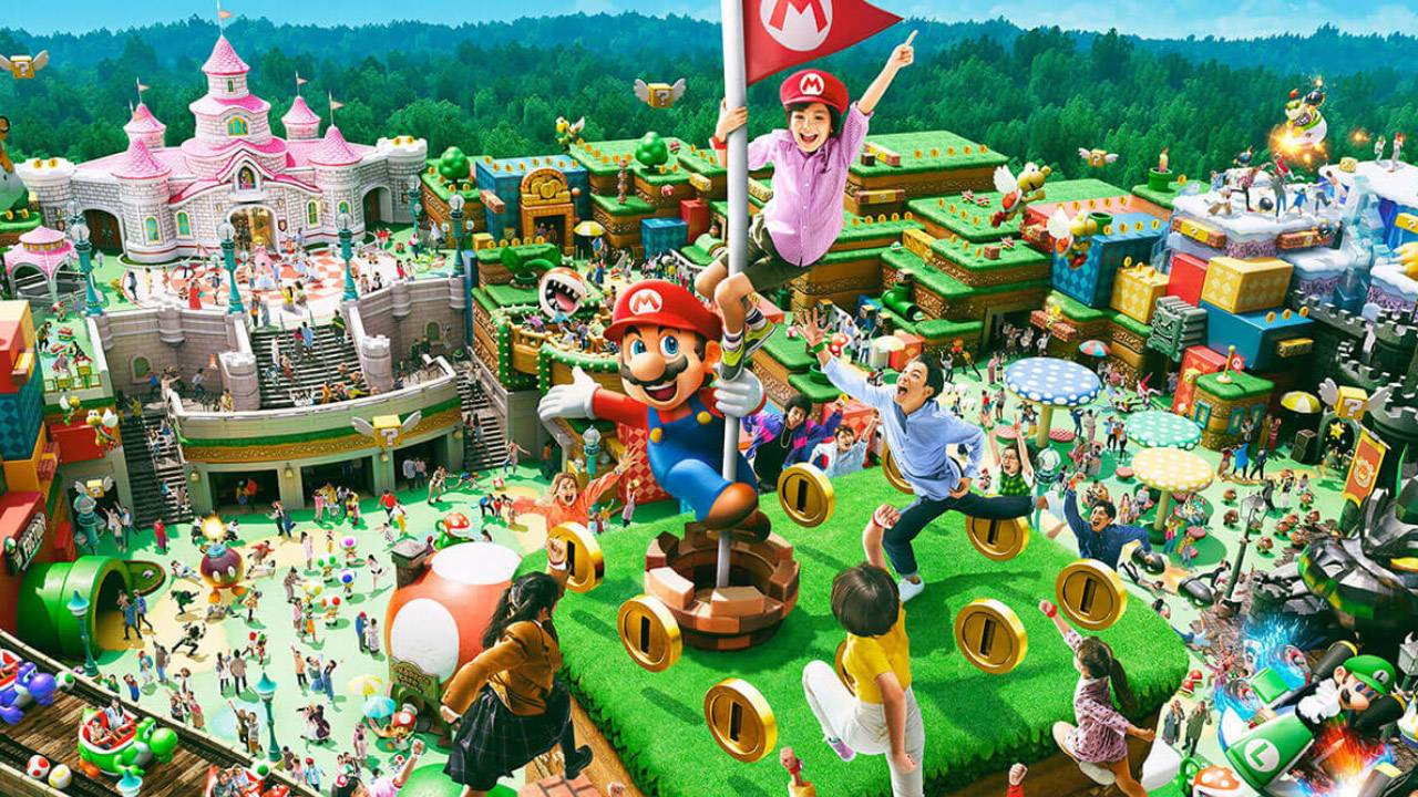 Nintendo says that the Super Nintendo World Mario Kart ride is basically a game they can patch and update whenever they want screenshot