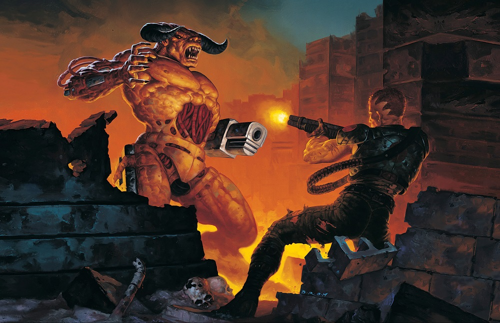 Limited Run Games announces Doom: The Classics Collection for PS4 and Nintendo Switch screenshot