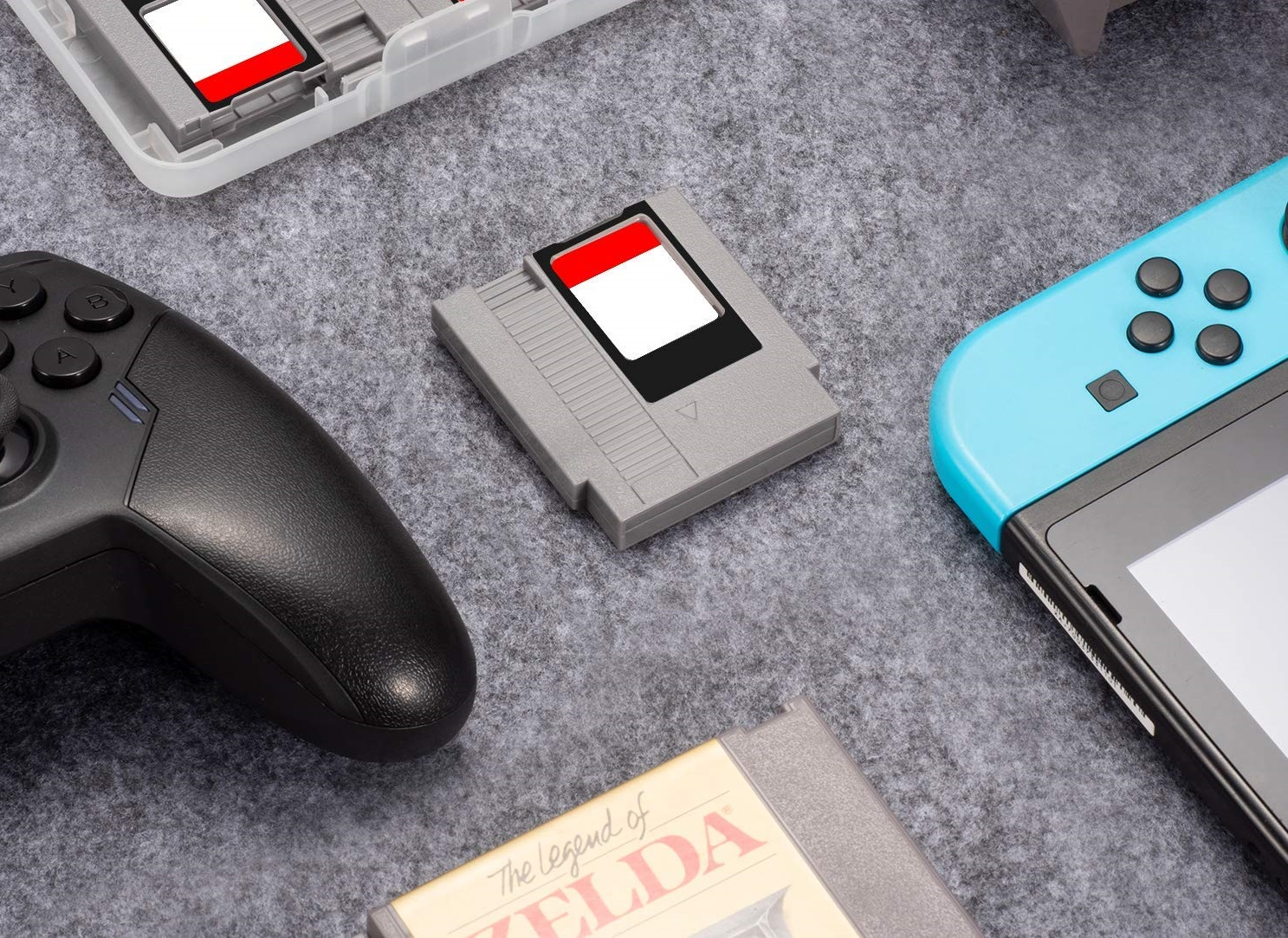 These new NES style Switch cart cases let you slot your games in screenshot