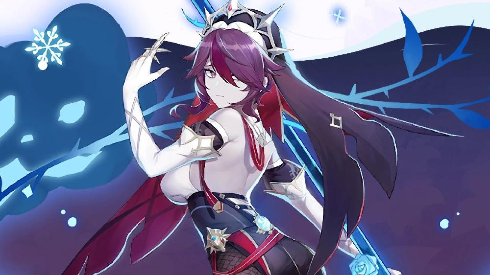 Meet Rosaria, Genshin Impact's alluring, apathetic, spear-wielding nun screenshot