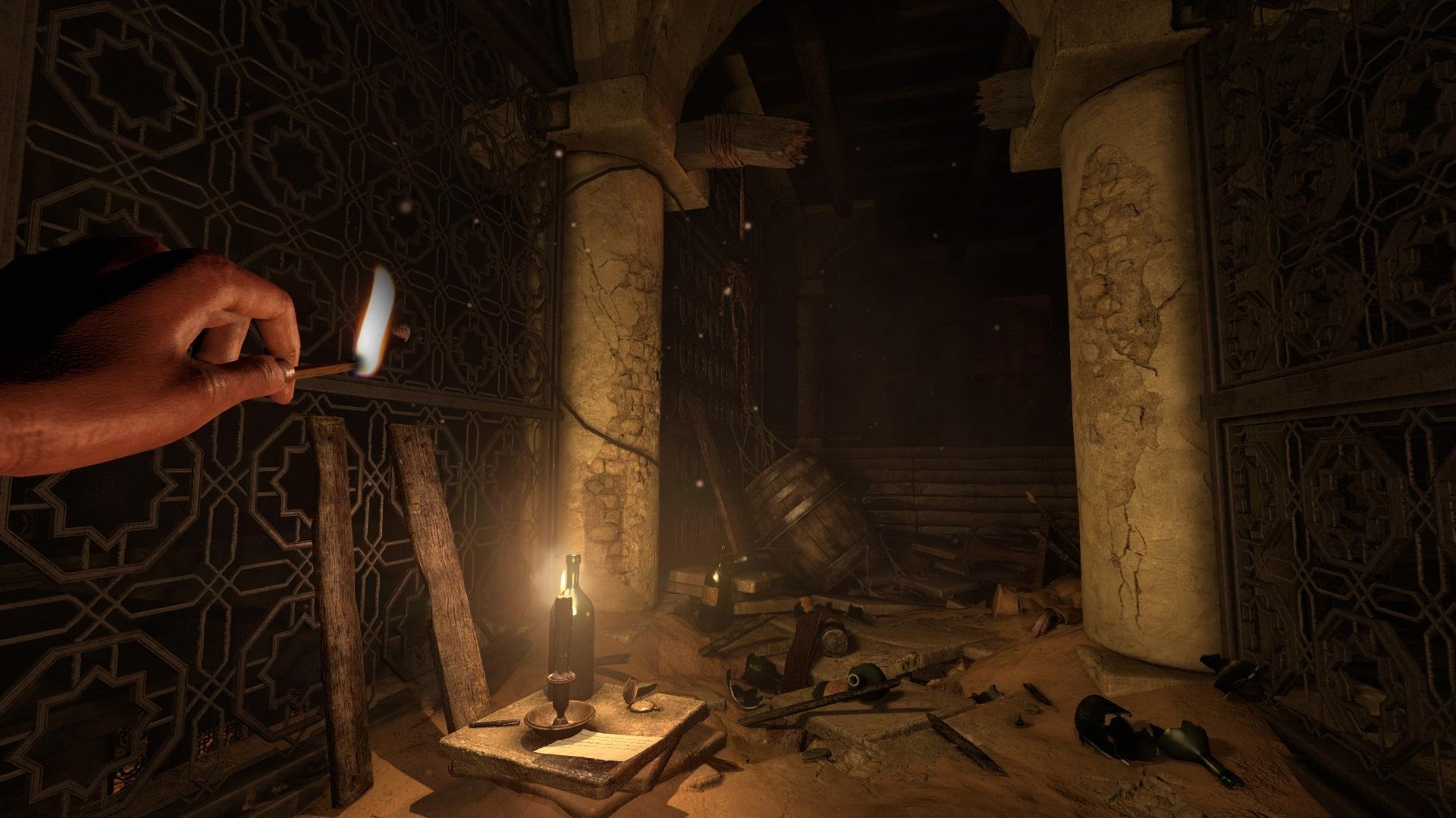 Amnesia: Rebirth has an alternate Adventure Mode with 'a few bonus puzzles' screenshot