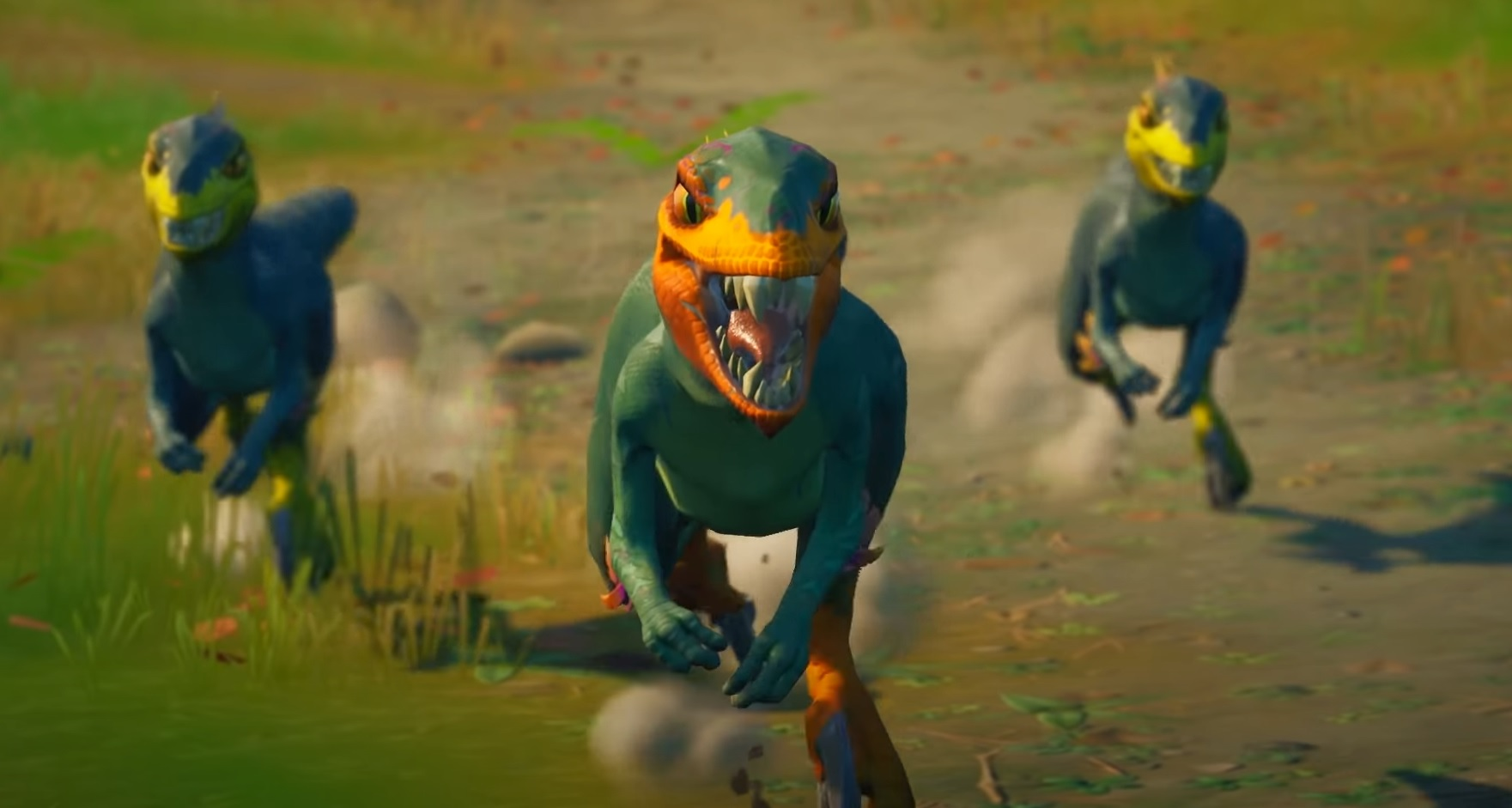Clever girl: Fortnite just added raptors screenshot