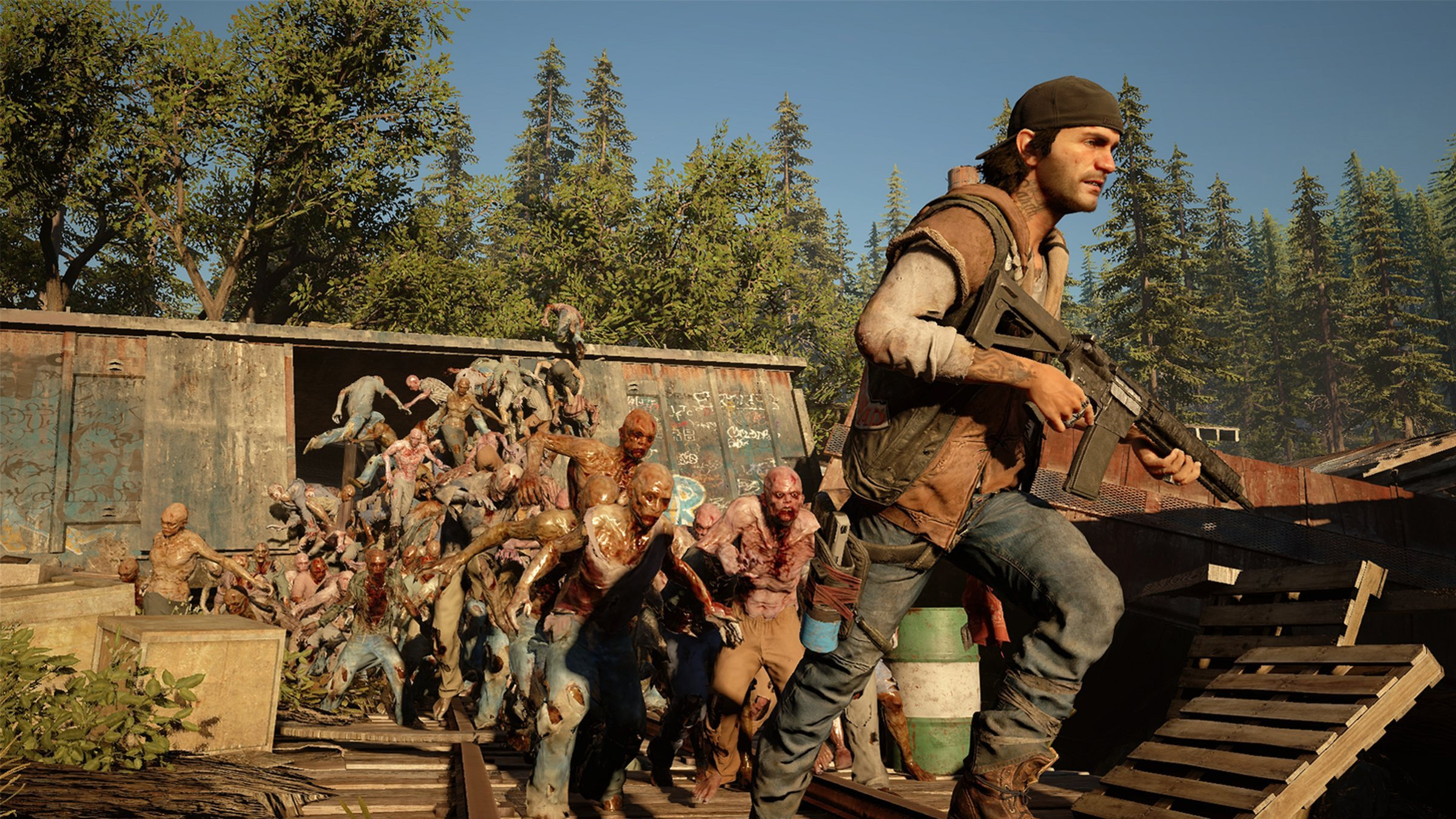 PlayStation Plus really wants us to play Days Gone in April screenshot