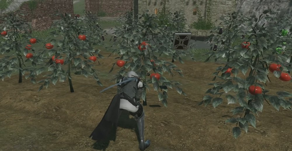 Suspicious NieR Replicant trailer turns the remaster into a Stardew Valley-style life sim screenshot