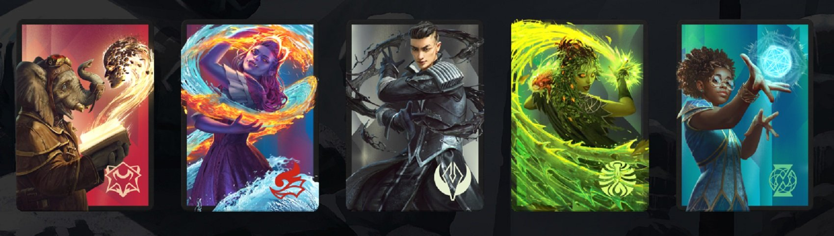 Here's how to get five new Magic: Arena Strixhaven sleeves for free screenshot