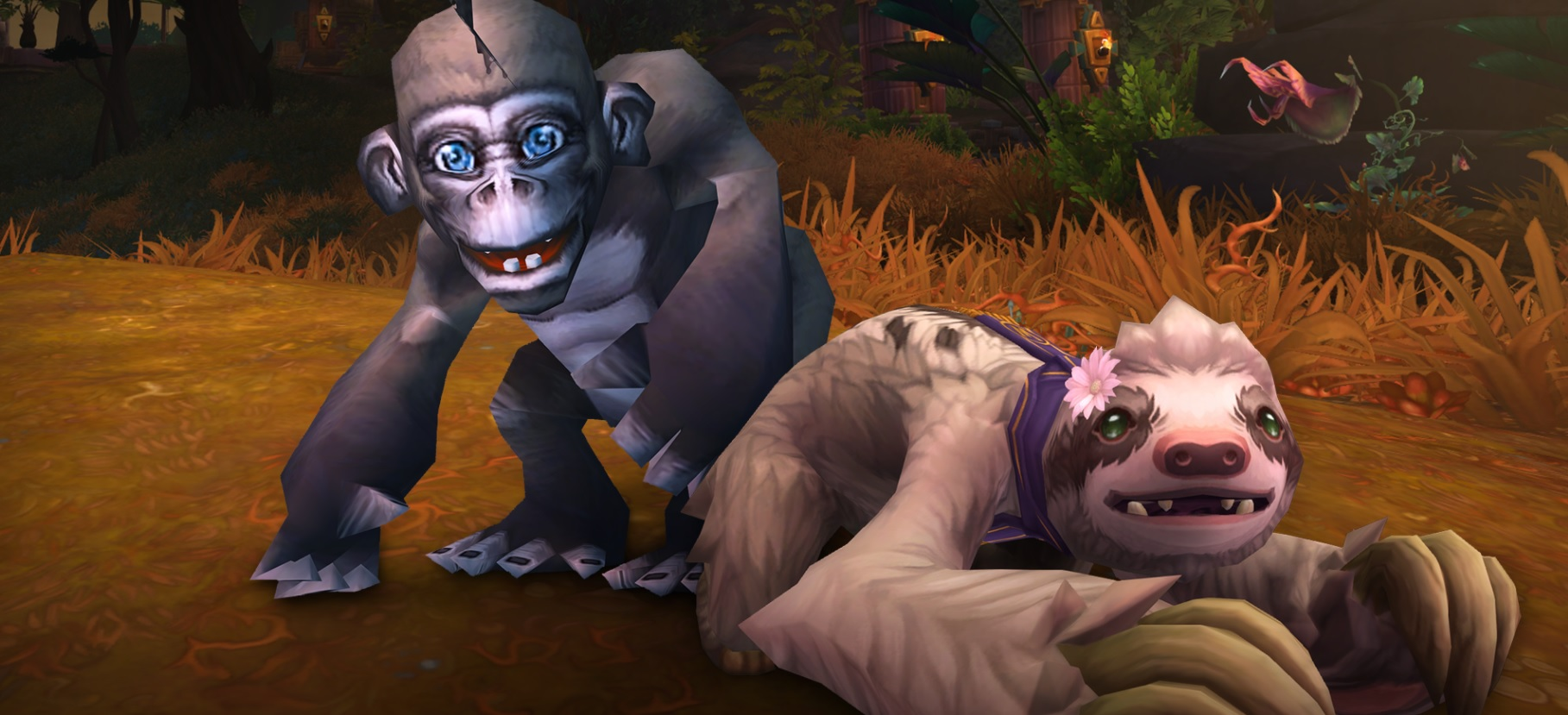 (Update) You can unlock this free freaky World of Warcraft monkey charity pet now screenshot