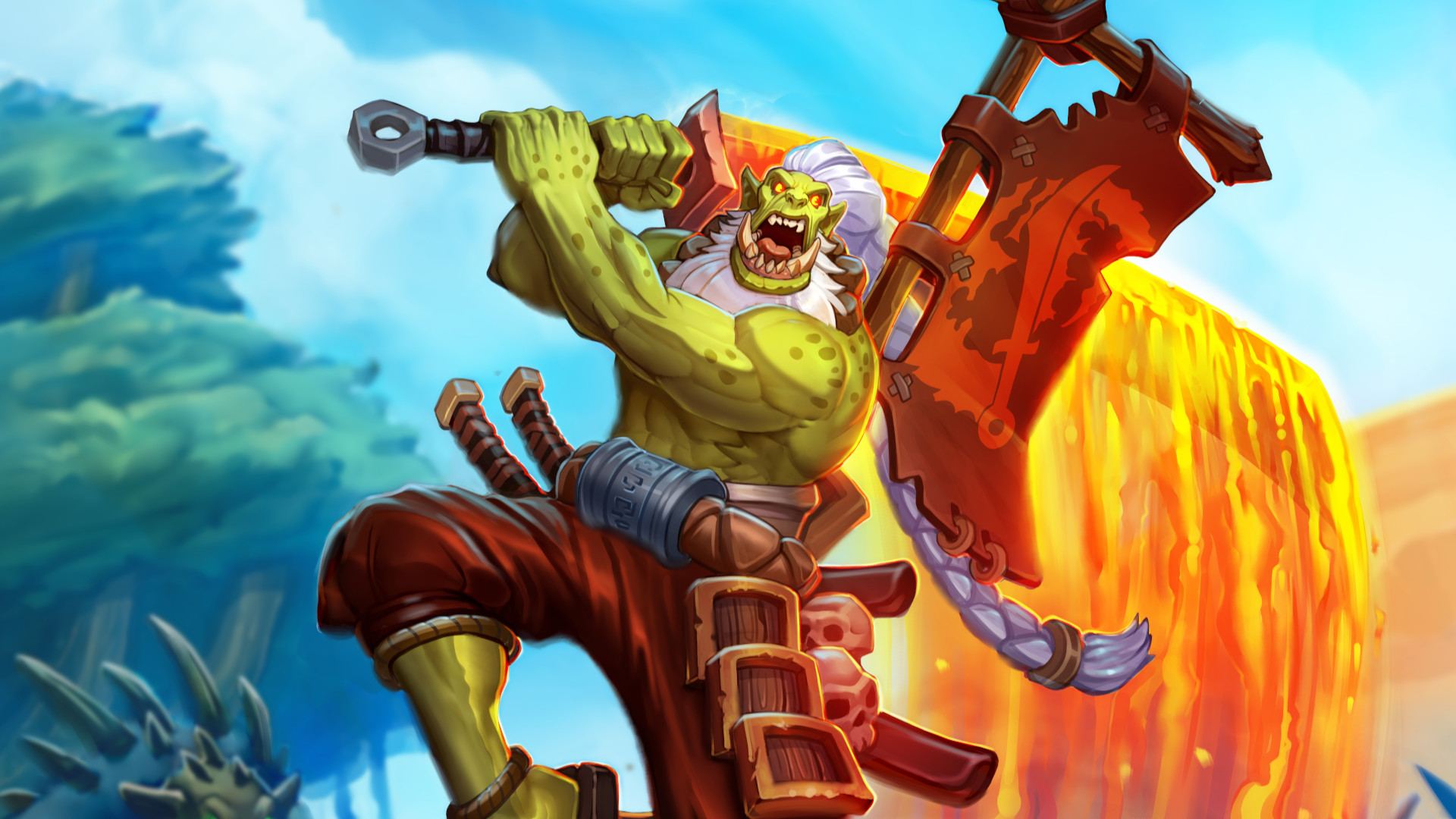 Hearthstone's new standard rotation and the thematic Barrens set has shaken up the game screenshot