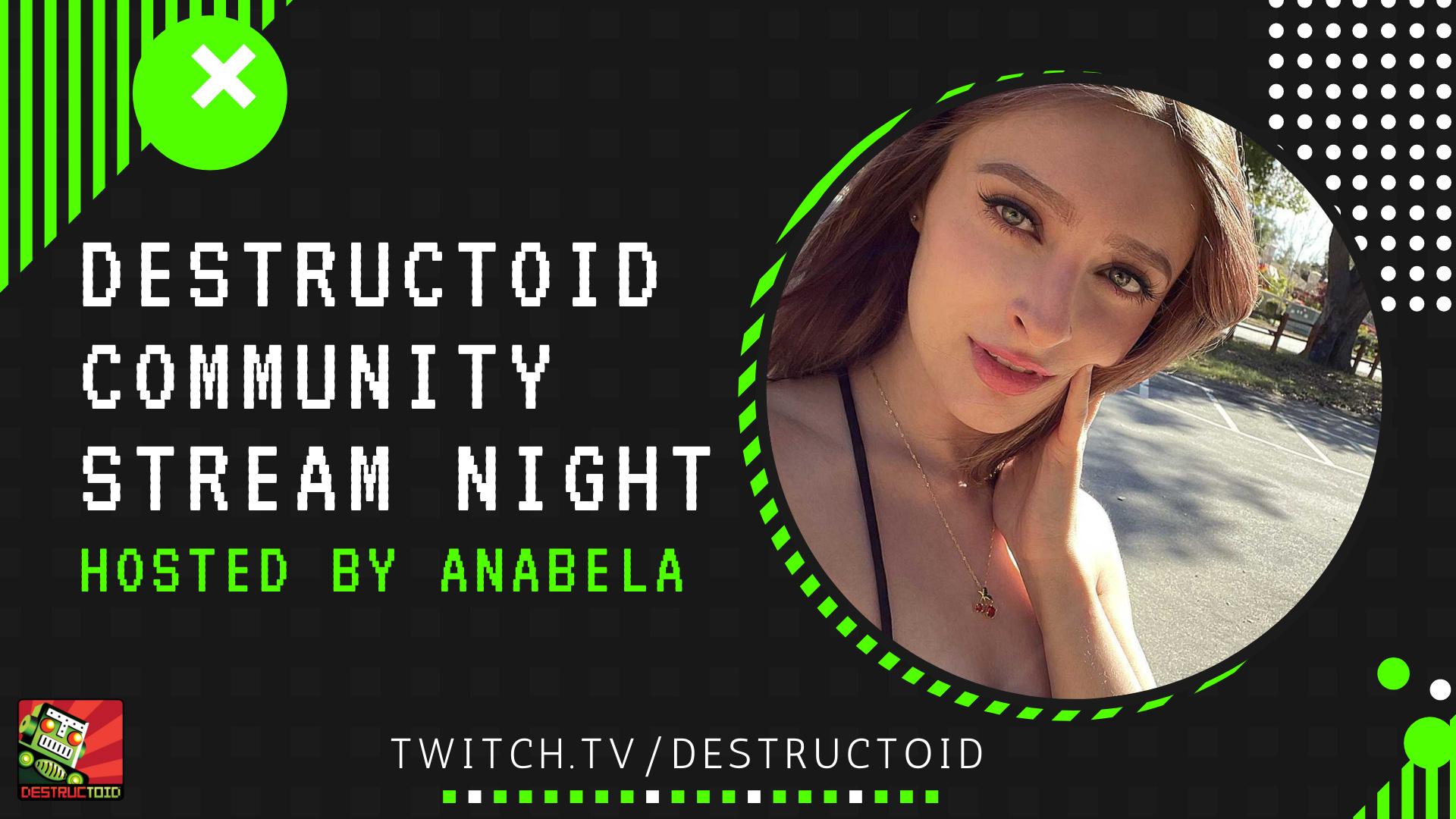 Destructoid community stream night is live on Twitch