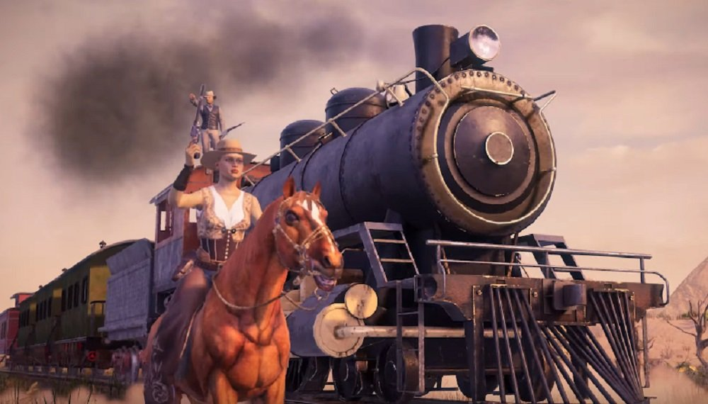Grit is a brand new battle royale with a wicky-wicky-wild-wild-west theme screenshot