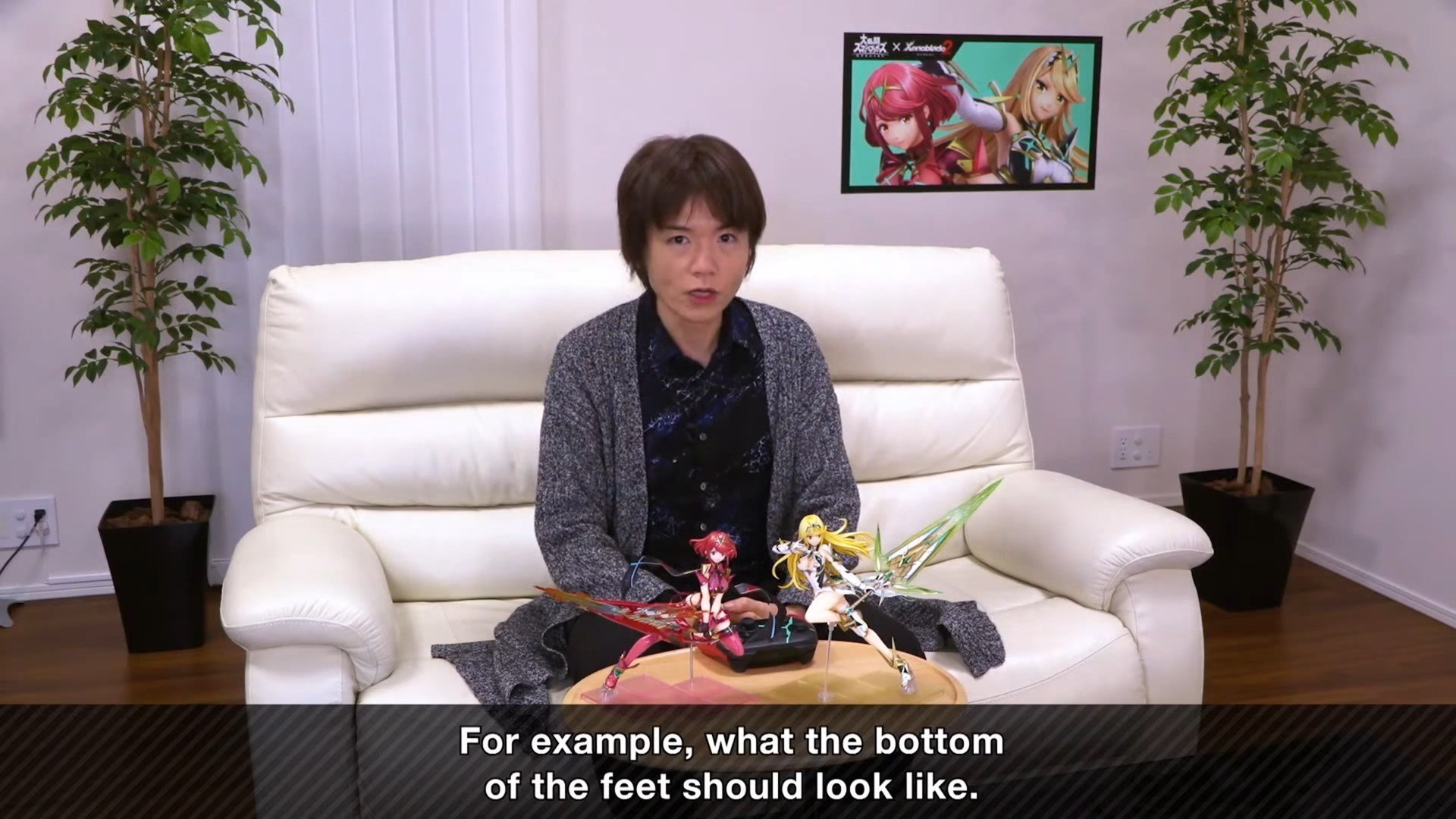 If you want the Pyra and Mythra figures Sakurai was talking about and haven't gotten them yet, you'll have to wait until 2023 screenshot