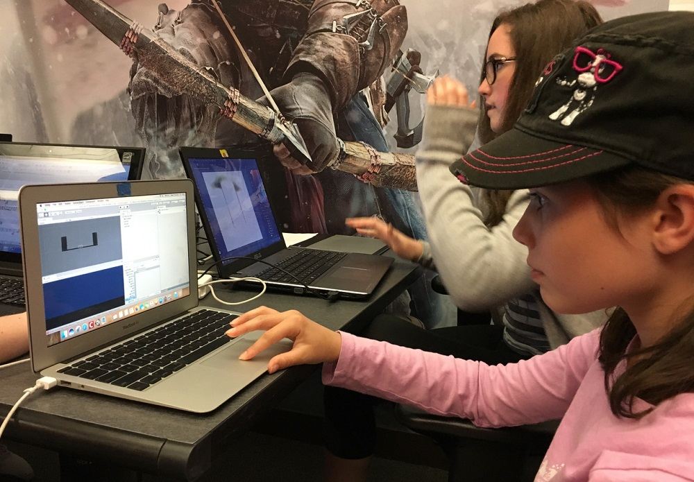 Girls Make Games teams with Google Play for Change the Game initiative screenshot