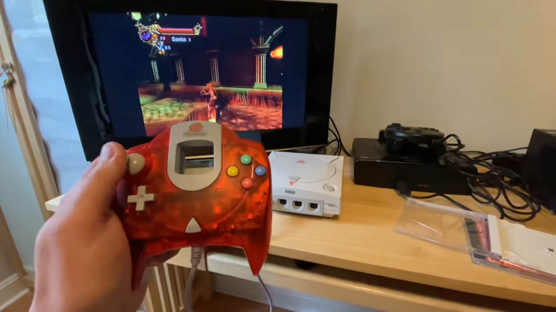 Canceled Dreamcast Castlevania prototype surfaces online screenshot