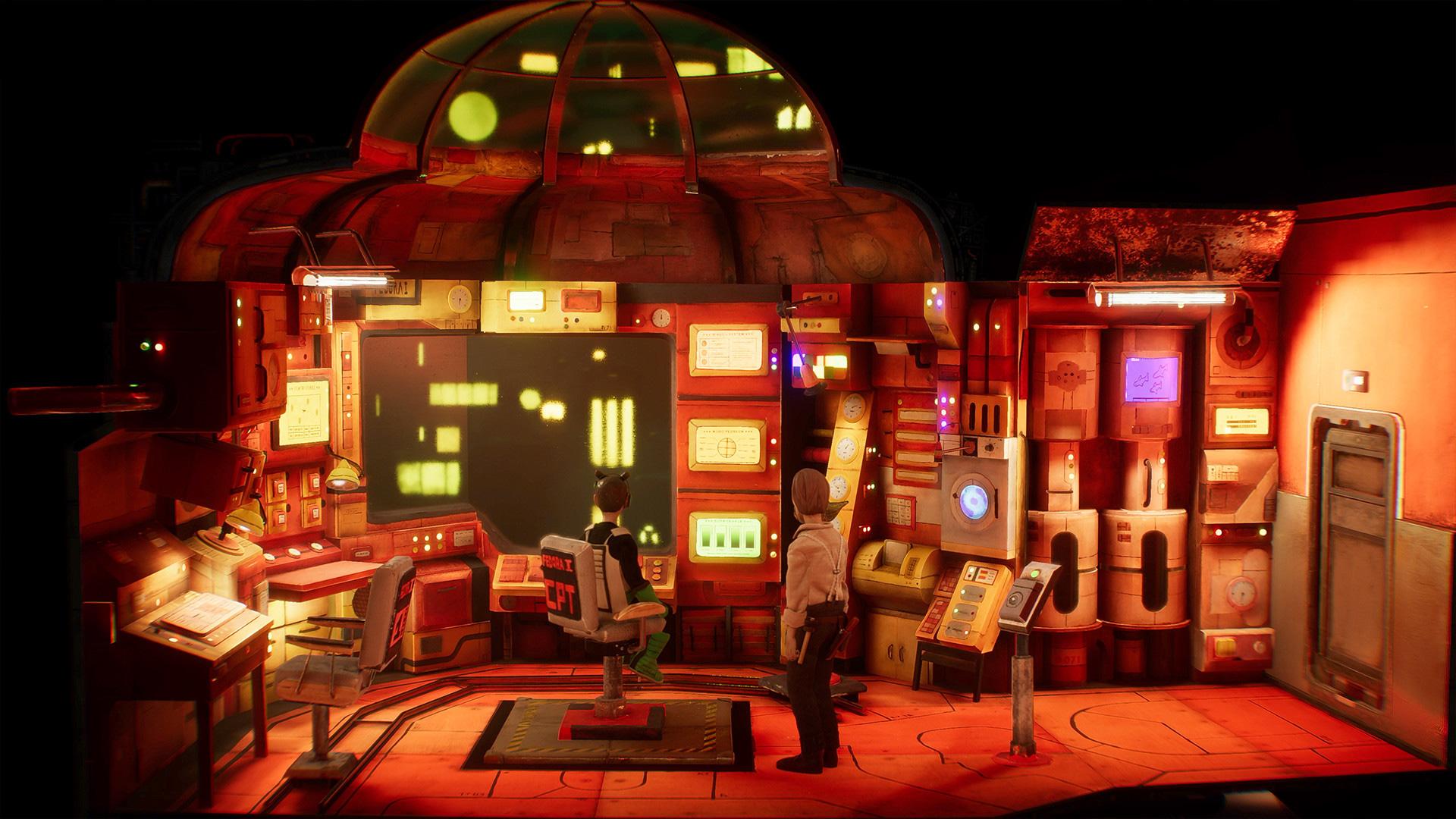 Harold Halibut, a hand-made adventure game set on a sunken ark, is coming 'soonish' screenshot