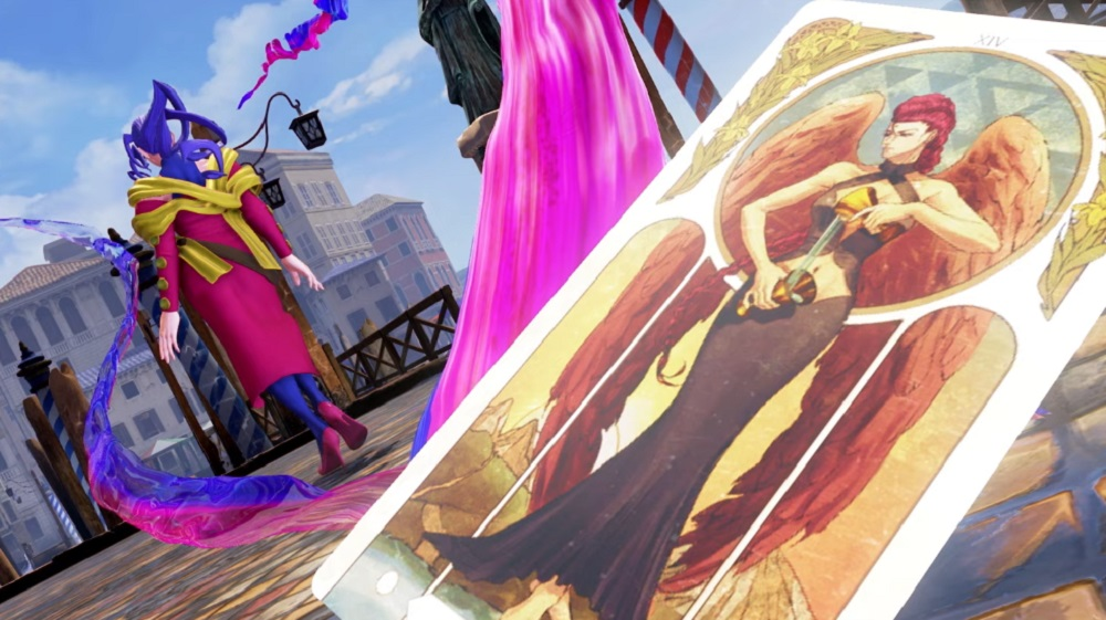 It's in the cards: Rose returns in Street Fighter V: Champion Edition April 19 screenshot