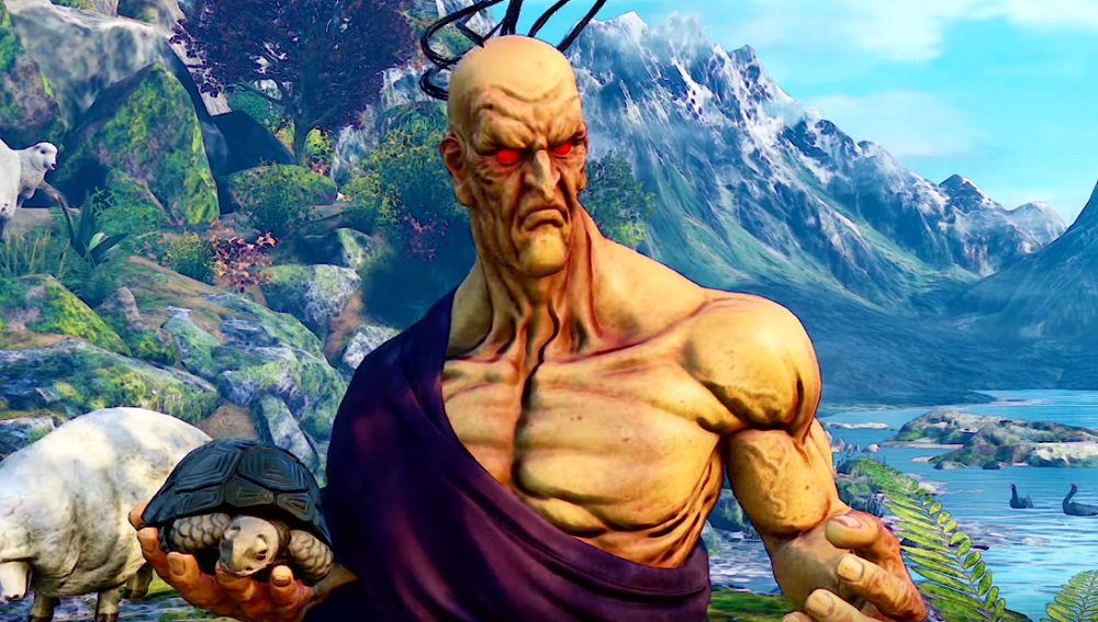 Turtle Power: Oro comes out of hiding for Street Fighter V: Champion Edition screenshot