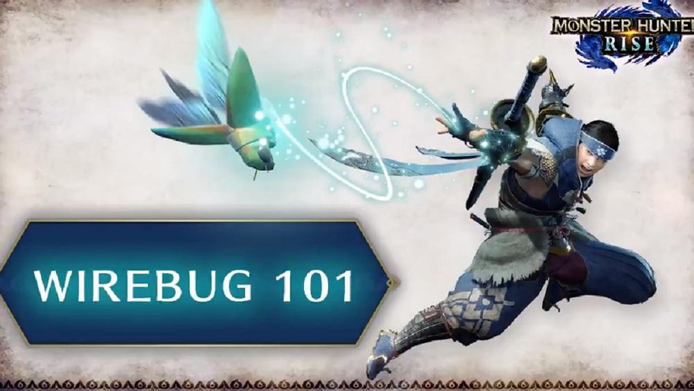 Capcom breaks down Monster Hunter Rise's Wirebug in this helpful video guide screenshot