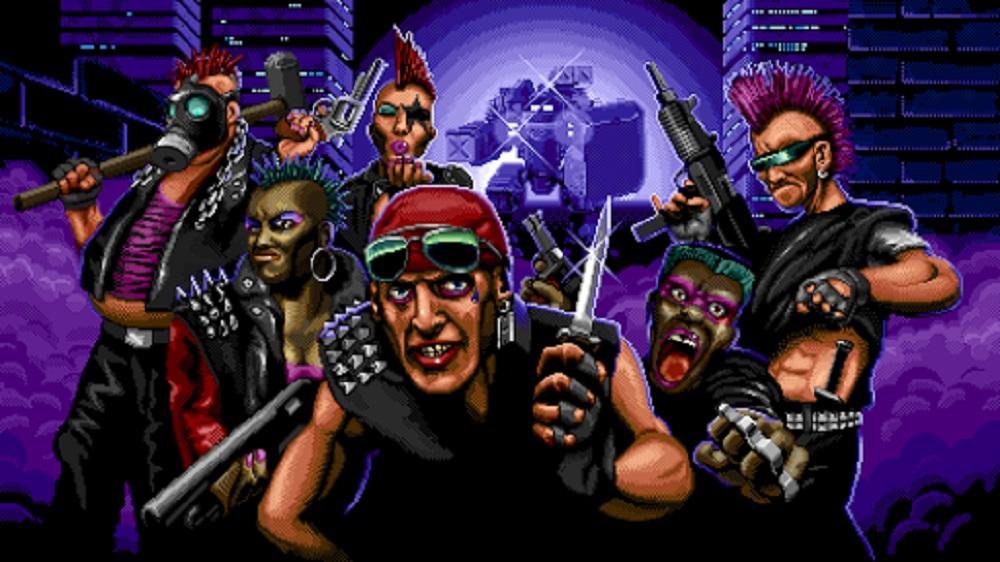 Huntdown brings its lurid cyberpunk carnage to Steam May 12 screenshot