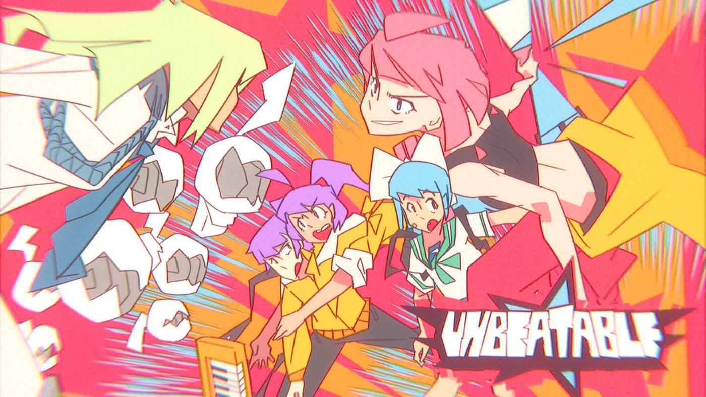 Super stylish rhythm game Unbeatable has cleared its initial Kickstarter goal screenshot