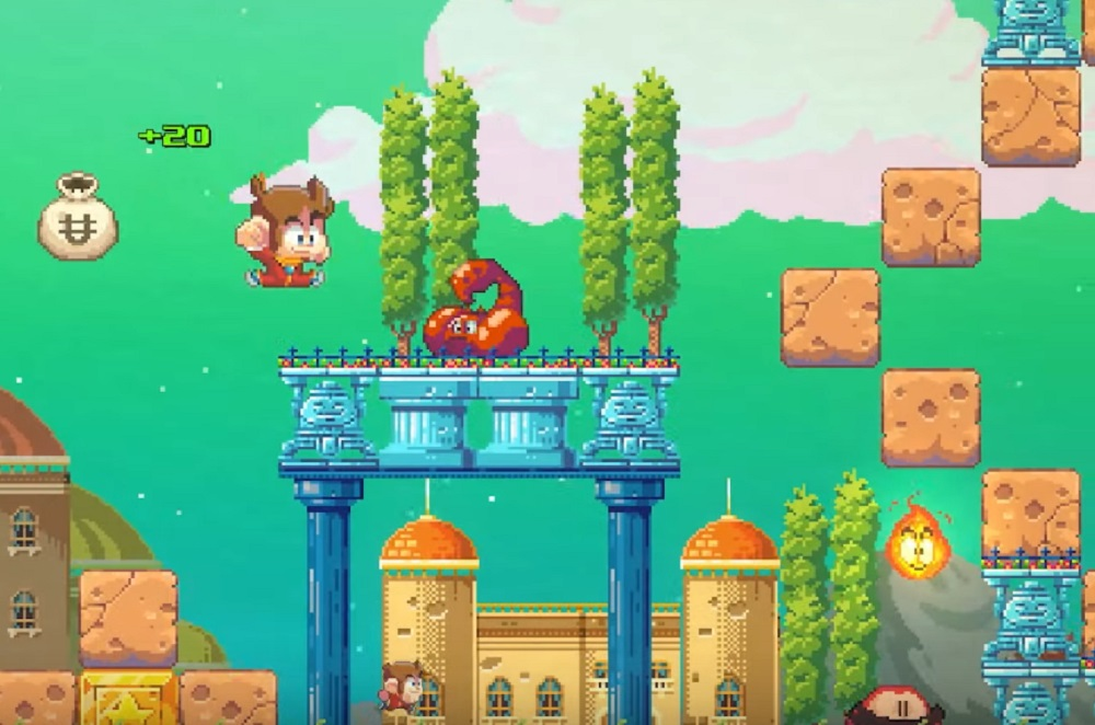 Alex Kidd in Miracle World remake launches June 24 and it's looking radical screenshot