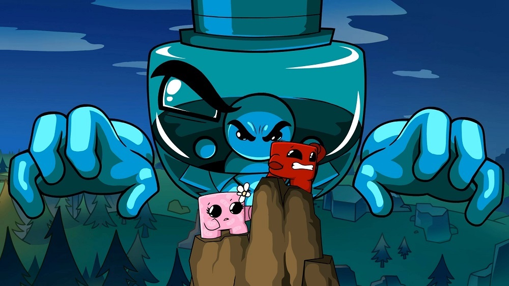 Super Meat Boy Forever runs, jumps, and splats onto PS4 and Xbox One next week screenshot