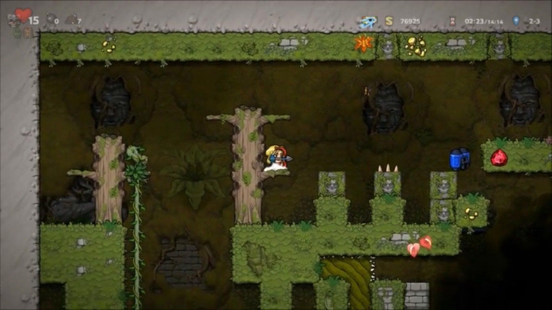 Breaking into Spelunky 2's Black Market without bombs is a bold strategy screenshot