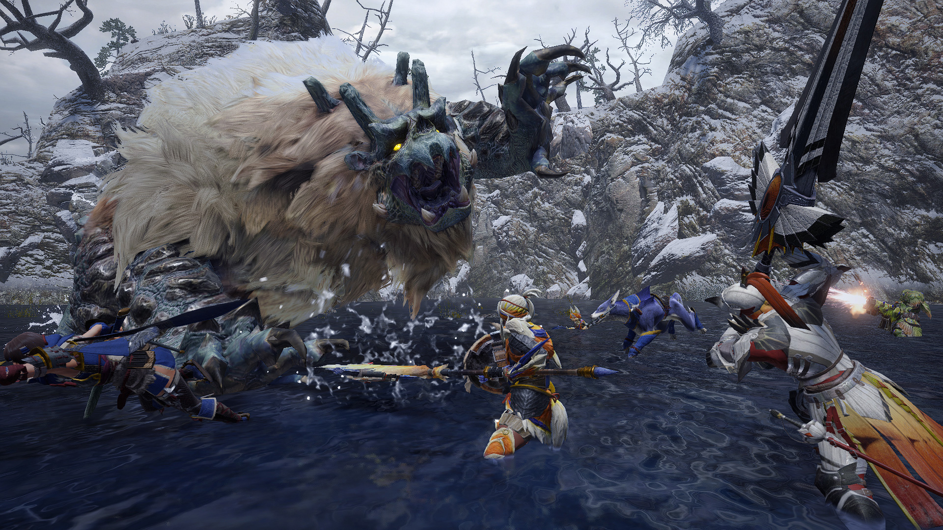 Monster Hunter has become the only game I buy at launch screenshot