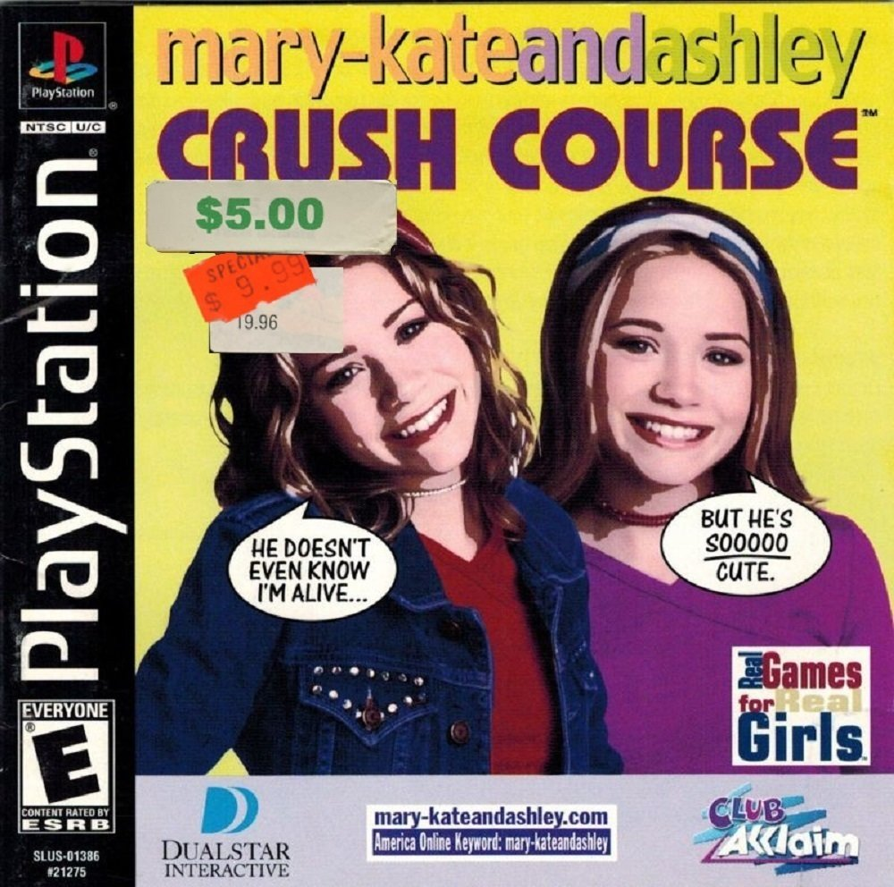 Let's relive the unspeakable horrors of high school with Mary-Kate and Ashley: Crush Course screenshot