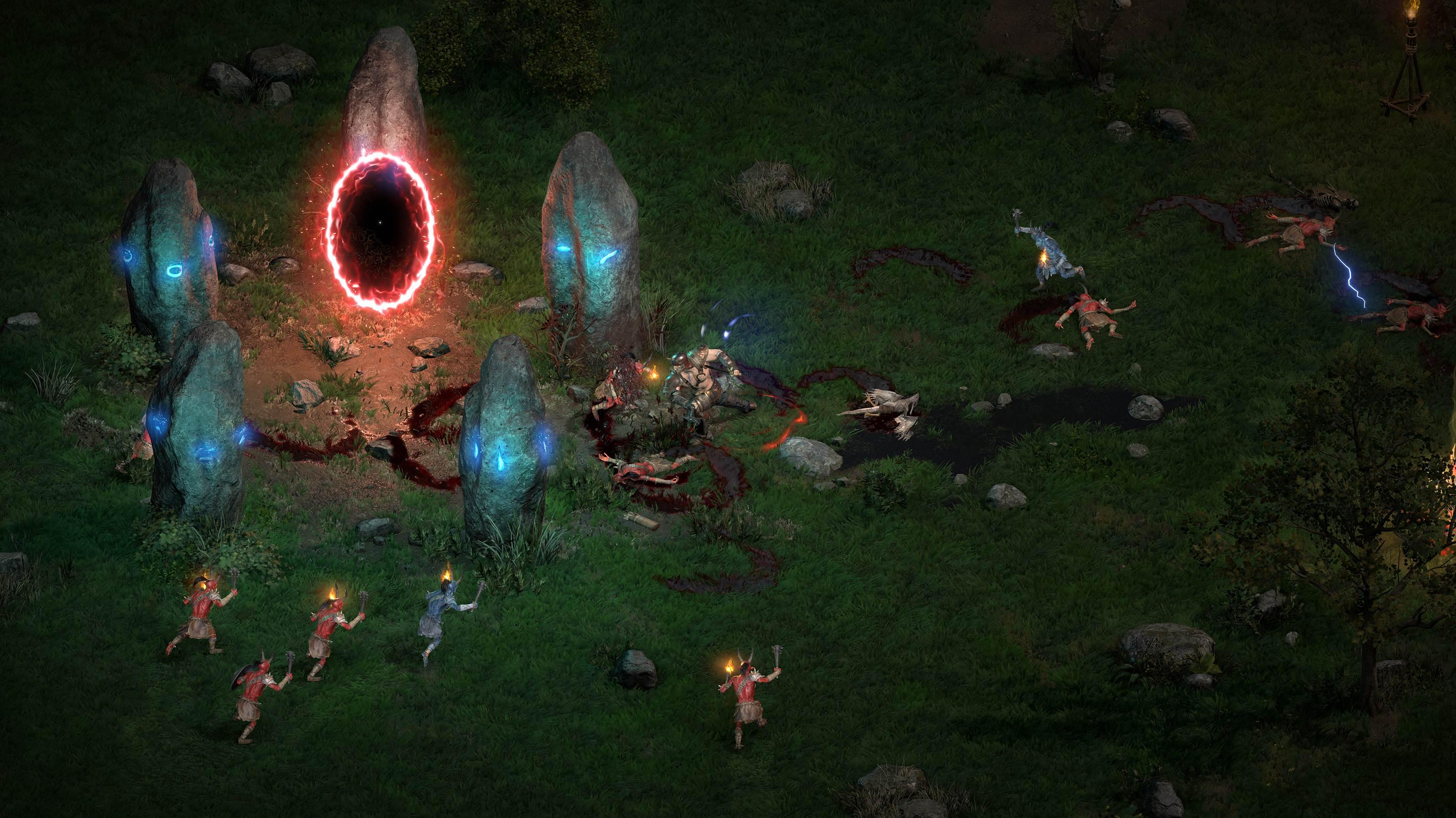 Diablo II: Resurrected feels like a magic trick screenshot