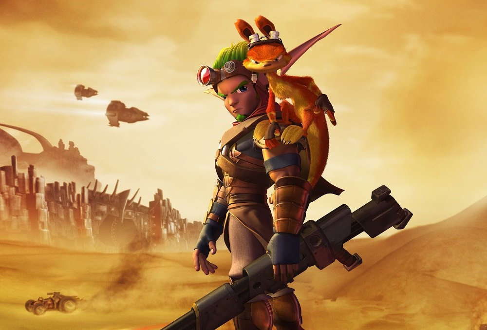 Naughty Dog 'wishes' it was working on a new Jak & Daxter, but it isn't screenshot