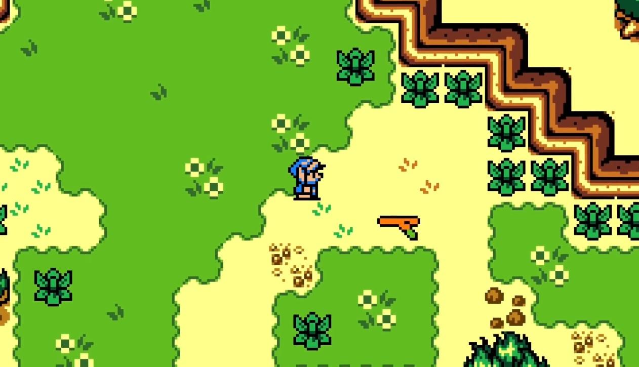 This Zelda: Breath of the Wild demake looks like something I'd play screenshot
