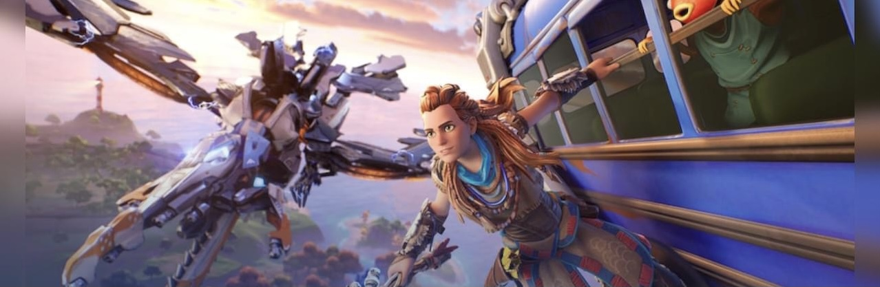 First Kratos, now Aloy is joining Fortnite screenshot
