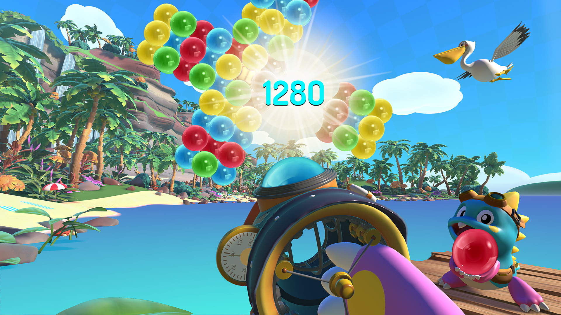 Puzzle Bobble VR: Vacation Odyssey looks better than expected screenshot