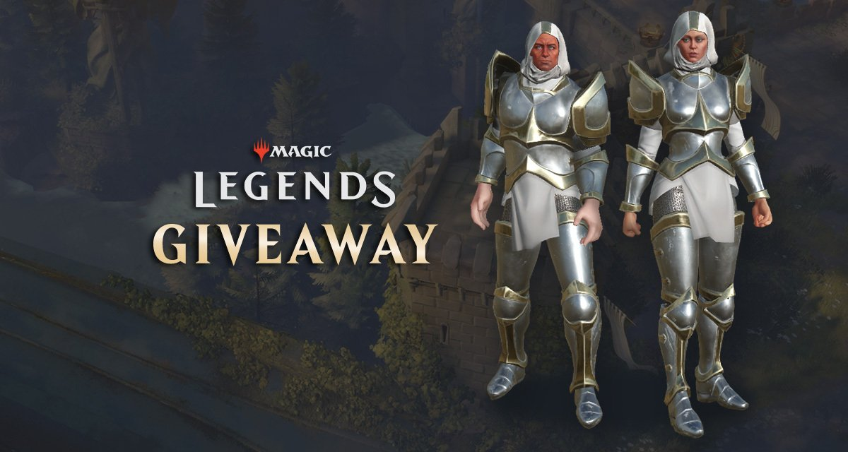 Giveaway: Take an exclusive Crusader Armor Pack for Magic: Legends screenshot