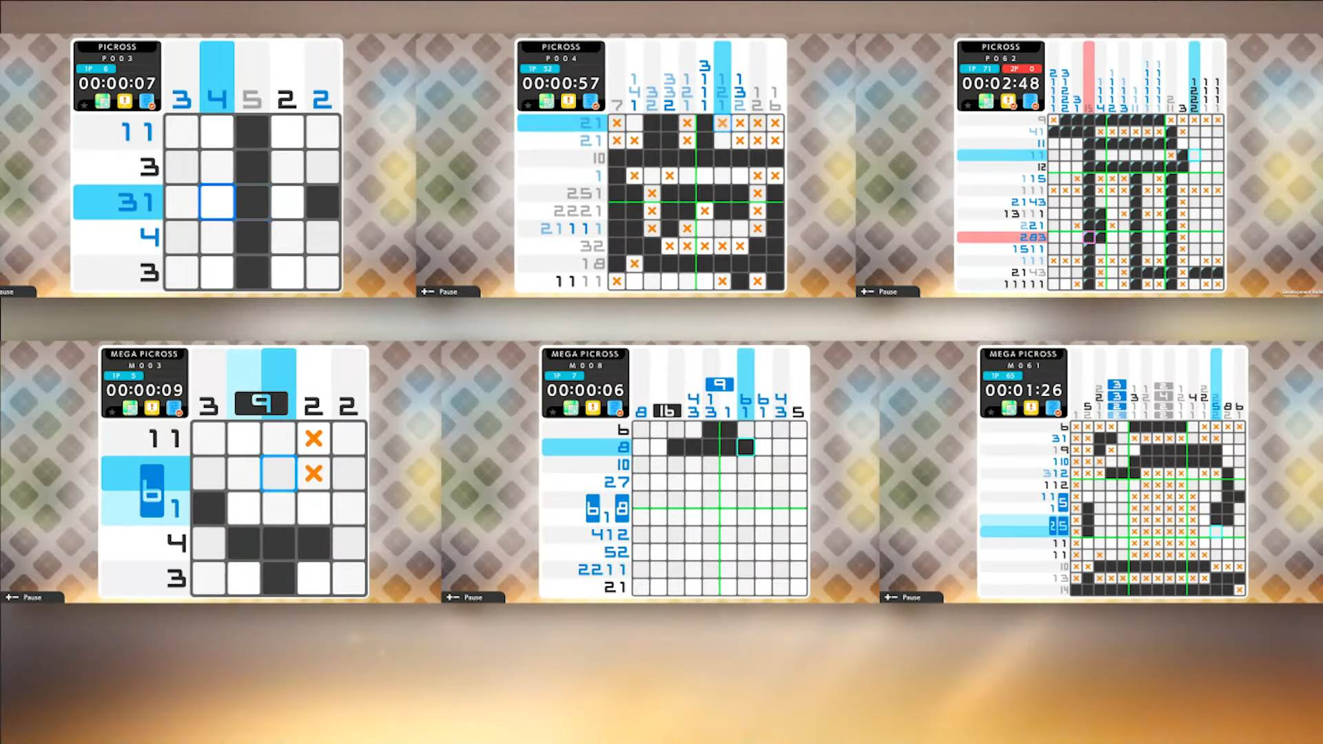 Picross S6 is coming to Switch next week screenshot